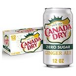 Canada Dry Diet Ginger Ale Soda 12 oz Cans