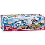 Hawaiian Punch Flavored Juice Drink 12 Pack 12 oz Cans Fruit Juicy Red