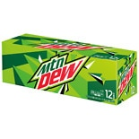 Mountain Dew Soda 12 Pack 12 oz Cans 12 oz Cans