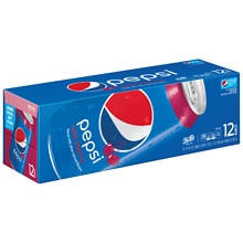 Pepsi Soda 12 pack 12 oz cans Wild Cherry