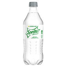 Sprite Zero Soda 20 oz Bottle Lemon Lime