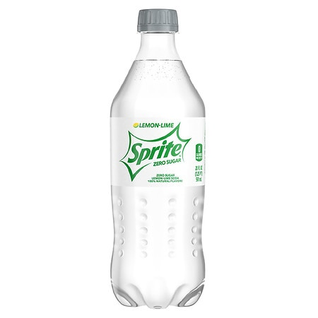 Sprite Zero Soda Lemon Lime,20 oz. Bottle