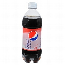 Diet Pepsi Soda 20 oz Bottle