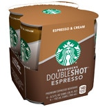Starbucks Coffee Doubleshot Premium Coffee Drink 4 Pack
