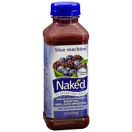 Naked 100% Juice Smoothie Boosted