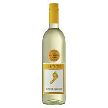 Barefoot Pinot Grigio Wine 750 mL Bottle