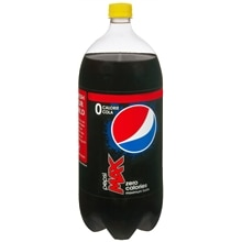 Pepsi Max Soda 2 Liter Bottle