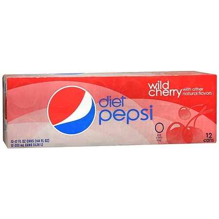 Diet Pepsi Soda Wild Cherry