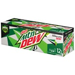 Diet Mountain Dew Soda 12 Pack 12 oz Cans