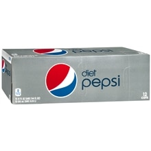 Diet Pepsi Soda 12 Pack 12 oz Cans