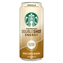 Starbucks Coffee Doubleshot Premium Energy Coffee Drink Vanilla