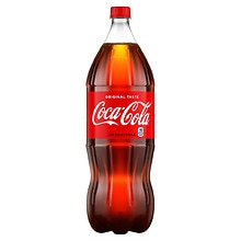 Coca-Cola Soda 2 Liter Bottle