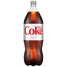 Diet Coke Soda 2 Liter Bottle