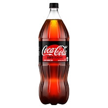 Coke Zero Soda 2 Liter Bottle