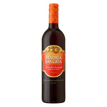 Madria Sangria Grape Wine with Natural Flavors 750 mL Bottle Tradicional