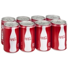 Coca-Cola Soda 8 Pack 7.5 oz Cans Cola,8 Pack 7.5 oz Cans