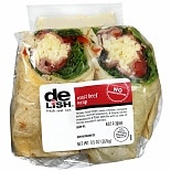 Good & Delish Wrap Sandwich Roast Beef