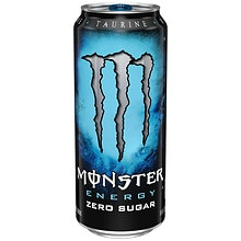 Monster Energy Supplement Drink 16 oz Can Absolutely Zero