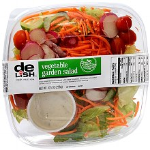 Salad, Vegetable Garden