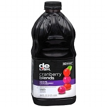 Cranberry Blends Juice Cocktail 64 oz Bottle Grape Cranberry