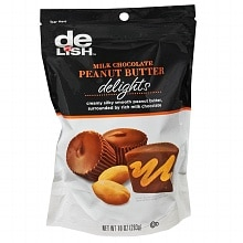 Good & Delish Delights Candy Milk Chocolate Peanut Butter