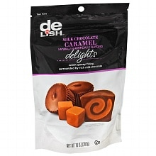 Good & Delish Delights Candy Milk Chocolate Caramel