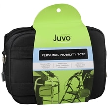 JUVO Personal Mobility Tote Quilted Black