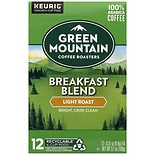 Green Mountain Coffee Ground Coffee K-Cups 12 Pack Breakfast Blend