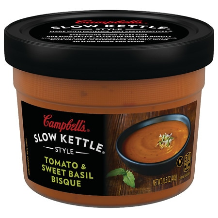 Campbell's Slow Kettle Style Soup Tomato & Sweet Basil Bisque