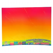 ArtSkills Rainbow Boards Assorted Colors