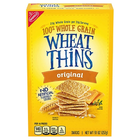 Nabisco Wheat Thins Snack Crackers