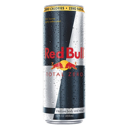 Red Bull Total Zero Energy Drink 12 oz Can