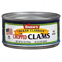 Snow's Ocean Classics Chopped Clams