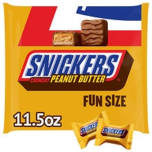 Fun Size Candy Bars, Peanut Butter