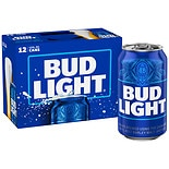 Bud Light Beer 12 oz Cans 12 Pack