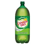 Canada Dry Ginger Ale Soda 2 Liter Bottle
