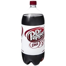 Diet Dr. Pepper Soda 2 Liter Bottle
