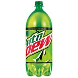 Mountain Dew Soda 2 Liter Bottle 2 Liter Bottle