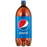 Pepsi Soda Cola,2 Liter Bottle