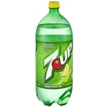 7-Up Soda Lemon-Lime,2 Liter Bottle
