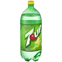 7-Up Soda 2 Liter Bottle Lemon-Lime