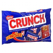 Nestle Crunch Fun Size Candy Bars