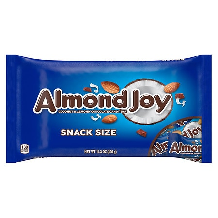 Almond Joy Snack Size Candy Bars Almond