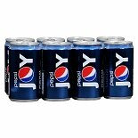 Pepsi Soda 8 Pack 7.5 oz Cans