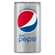 Diet Pepsi Soda 8 Pack 7.5 oz Cans