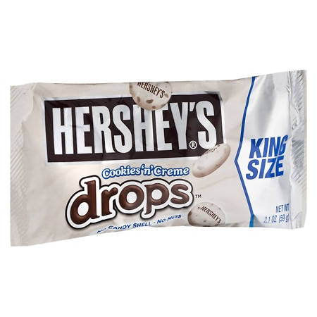 Hershey's Drops Candy King Size Cookies 'n' Creme