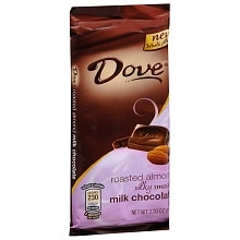 Dove Silky Smooth Candy Bar Milk Chocolate Almond