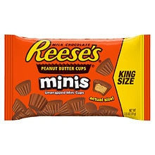 Reese's Minis Peanut Butter Cups Candy King Size