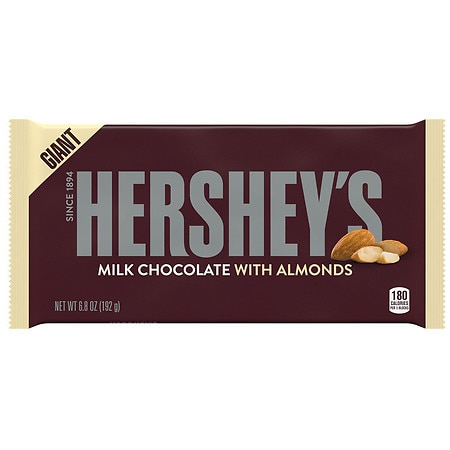 Hershey's Milk Chocolate Giant Candy Bar