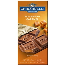 Ghirardelli Chocolate Bar Milk & Caramel